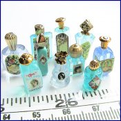 Making - perfume bottles