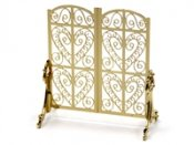 Ornate fire screen, dollshouse, roombox