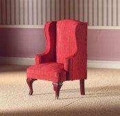 Armchair red