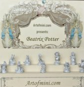 beatrix potter, art of mini