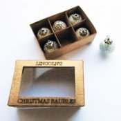 Box of baubles kit - kit from Jane Harrop