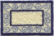 bunka carpet kit blue shades 1:12