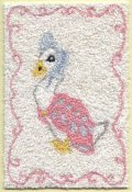 Bunka rug kit - Beatrix Potter -Jemima Duck