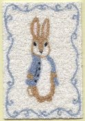 Betarix Potter Peter Rabbit carpet bunka kit