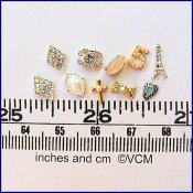 Jewellery findings set 1- from Valerie Claire Miniatures