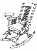Leeas grandmothers rockin chair -kit