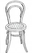 Michael Thonet chair from Kotte Toys