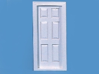 Internal door white 6 panels