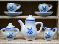 Tea set, Delft