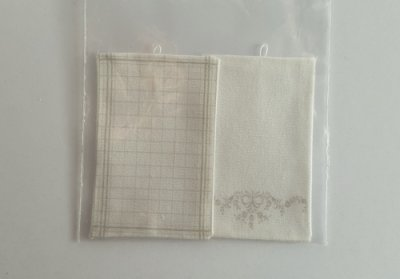 kitchen towels dollshouse