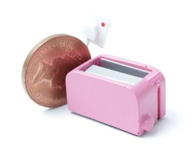 Toaster Pink - handmade in England