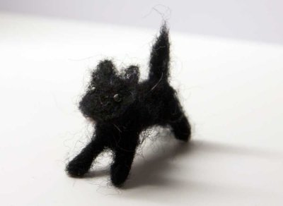 handmade wool dog, nr 6
