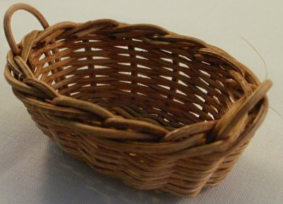 Washing basket oval