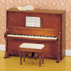 piano dollshouse roombox