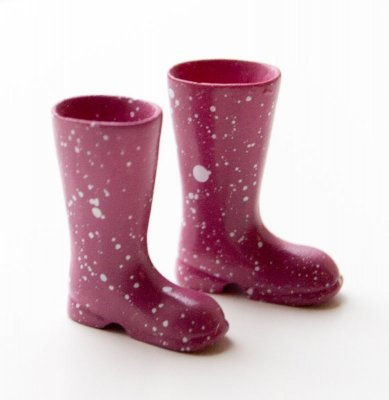 Boots, wellies pink