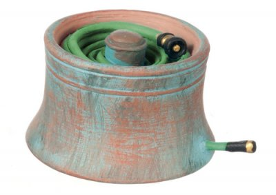 Copper house pot