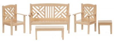 garden furniture dollshouse